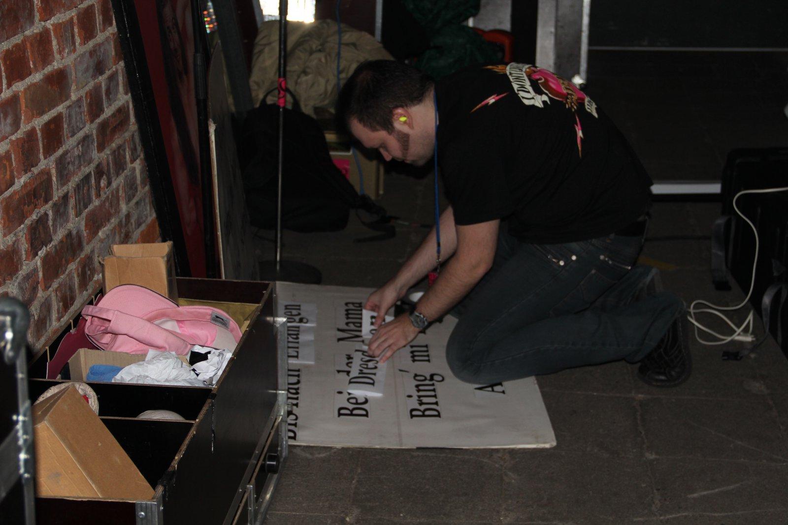 001 - J.B.O. @ Reithalle Dresden, 09.12.2011 - Foto von Andrea Jaeckel-Dobschat