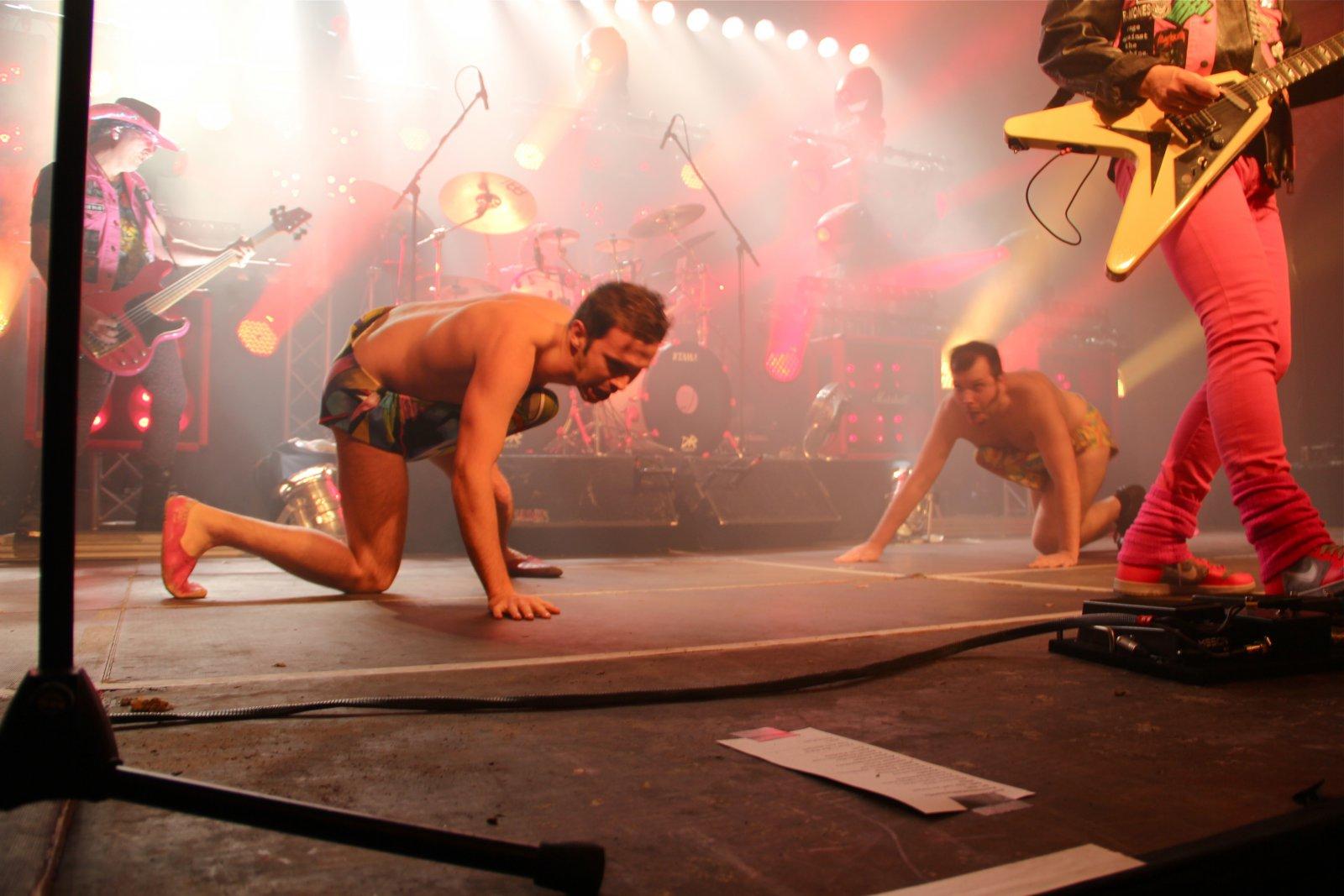 050 - J.B.O. @ Reithalle Dresden, 09.12.2011 - Foto von Andrea Jaeckel-Dobschat