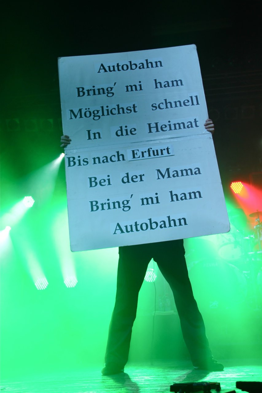 078 - J.B.O. @ Stadtgarten Erfurt, 10.12.2011 - Foto von Andrea Jaeckel-Dobschat