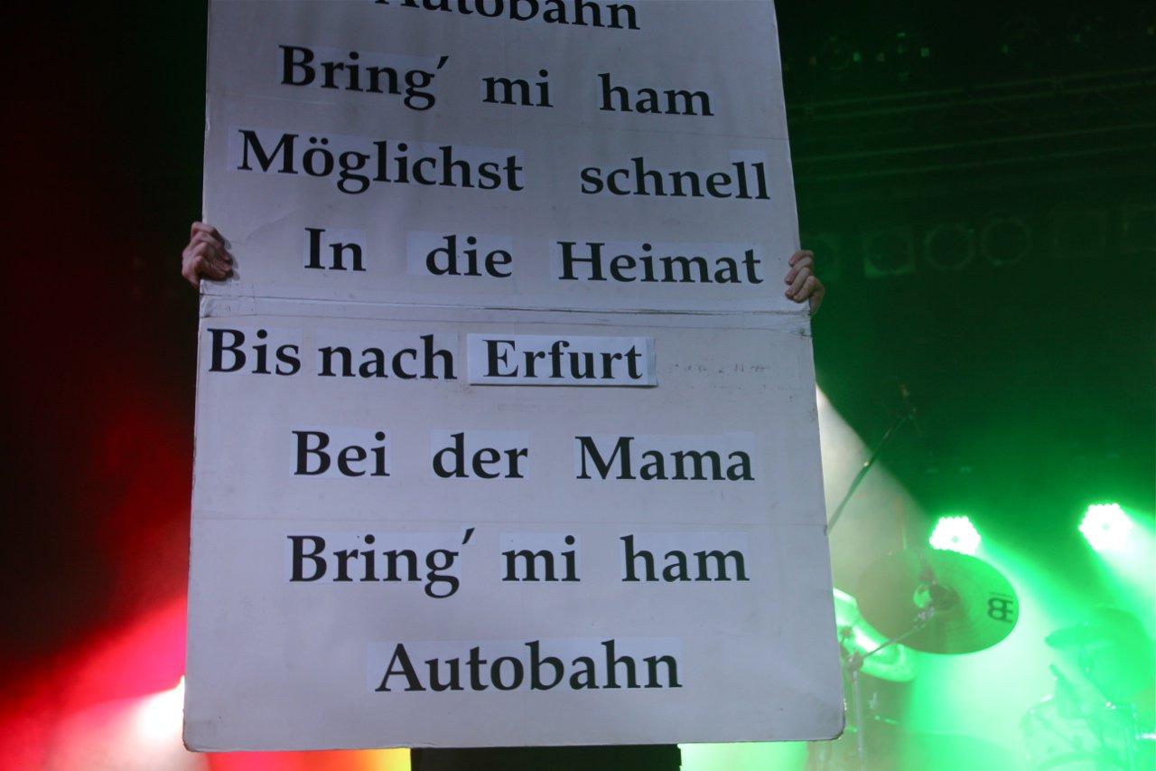 080 - J.B.O. @ Stadtgarten Erfurt, 10.12.2011 - Foto von Andrea Jaeckel-Dobschat
