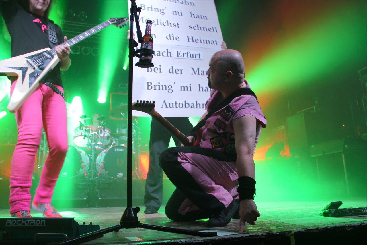 083 - J.B.O. @ Stadtgarten Erfurt, 10.12.2011 - Foto von Andrea Jaeckel-Dobschat