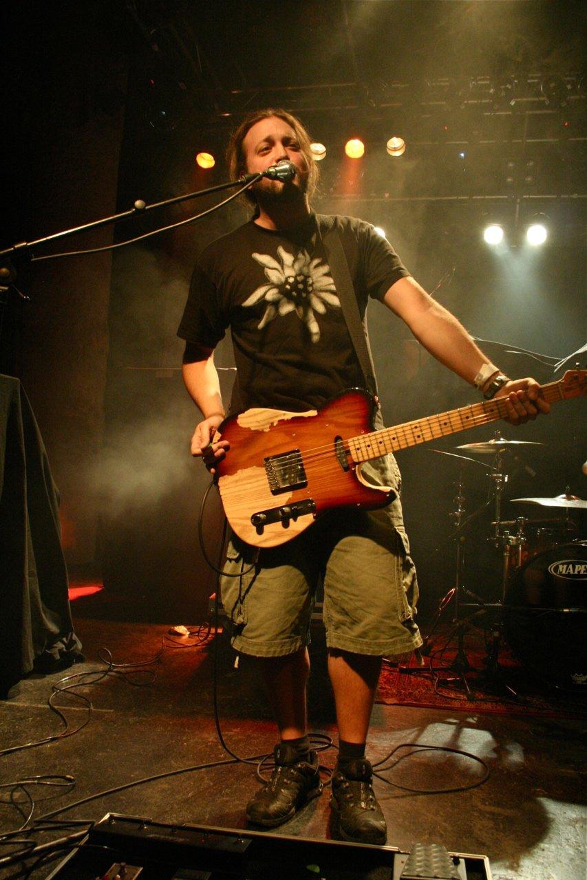 036 - Krautschädl @ Rockhouse Salzburg AT, 25.11.2011 - Foto von Carsten Dobschat