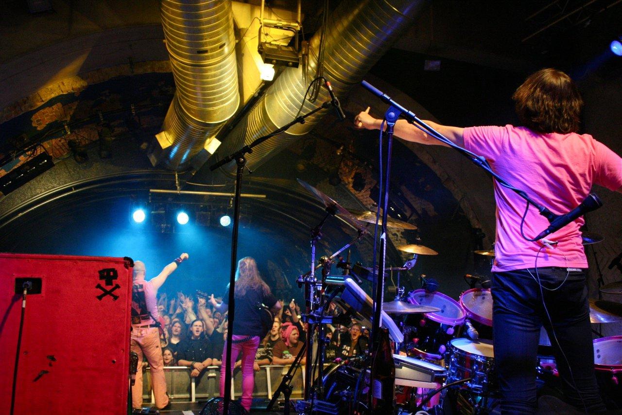 085 - J.B.O. @ Rockhouse Salzburg AT, 25.11.2011 - Foto von Carsten Dobschat