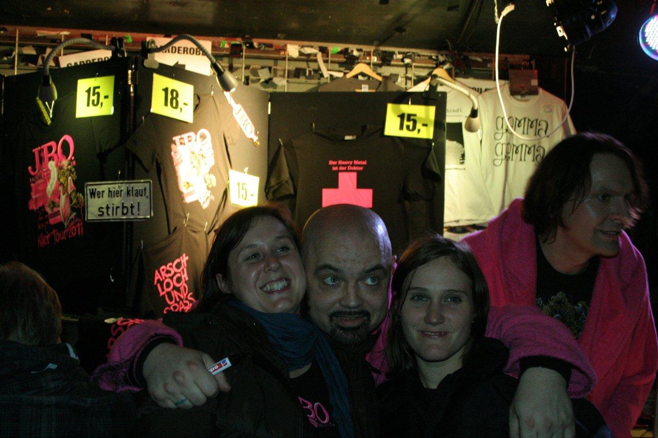 175 - J.B.O. @ Arena Wien AT, 26.11.2011 - Foto von Carsten Dobschat
