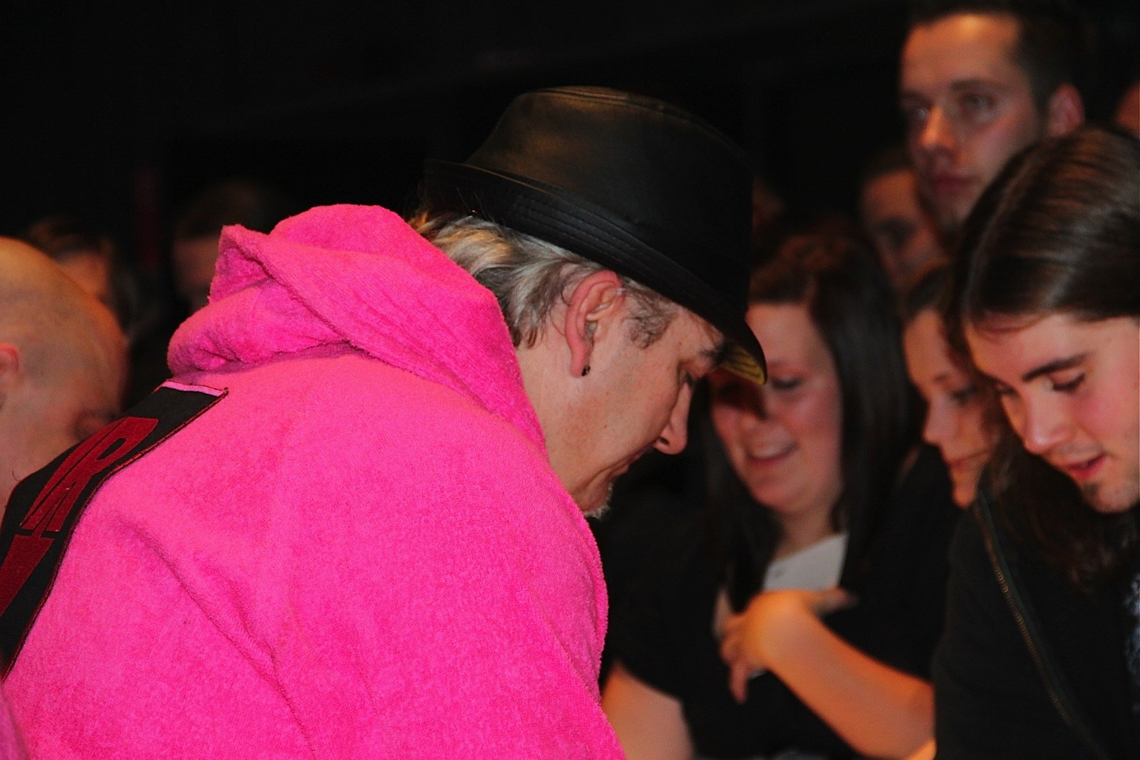 Autogrammstunde J.B.O., An Assfull Of Love @ Rockhal, Esch-sur-Alzette - Foto von Andrea Jaeckel-Dobschat - 010