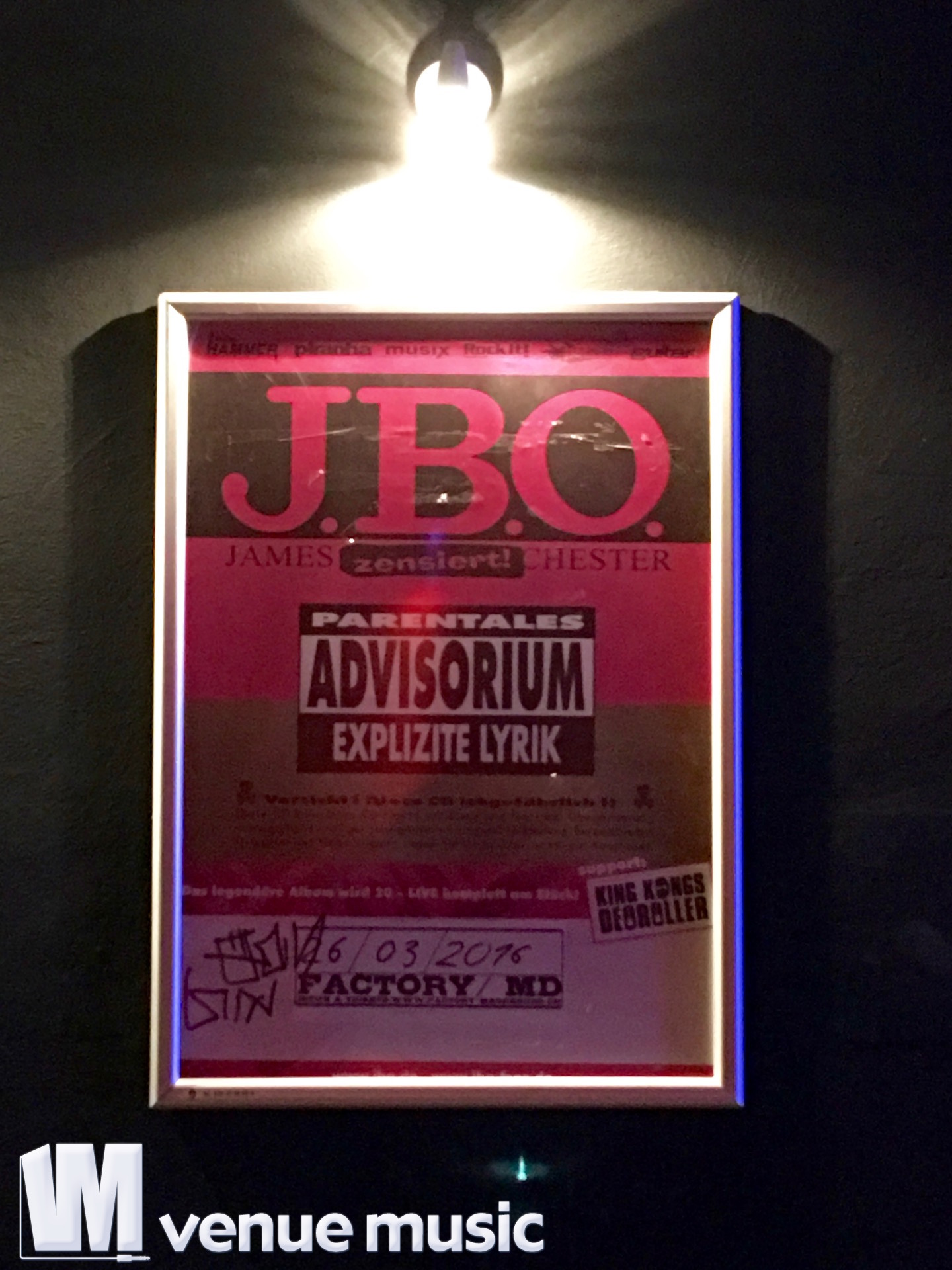 J.B.O. @ Factory, Magdeburg