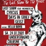 Plakat: The Last Day Of The Beast