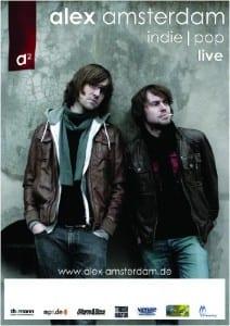 Poster: Alex Amsterdam - live