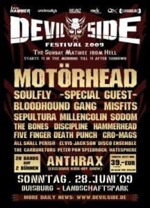 Poster: Devil Side Festival 2009