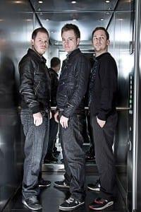 Pressefoto: Fettes Brot im Fahrstuhl