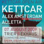 Plakat: Kettcar Open Air