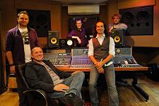 Die Wise Guys im Studio