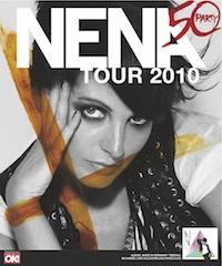 Poster: Nena - Geburtstagstour 2010