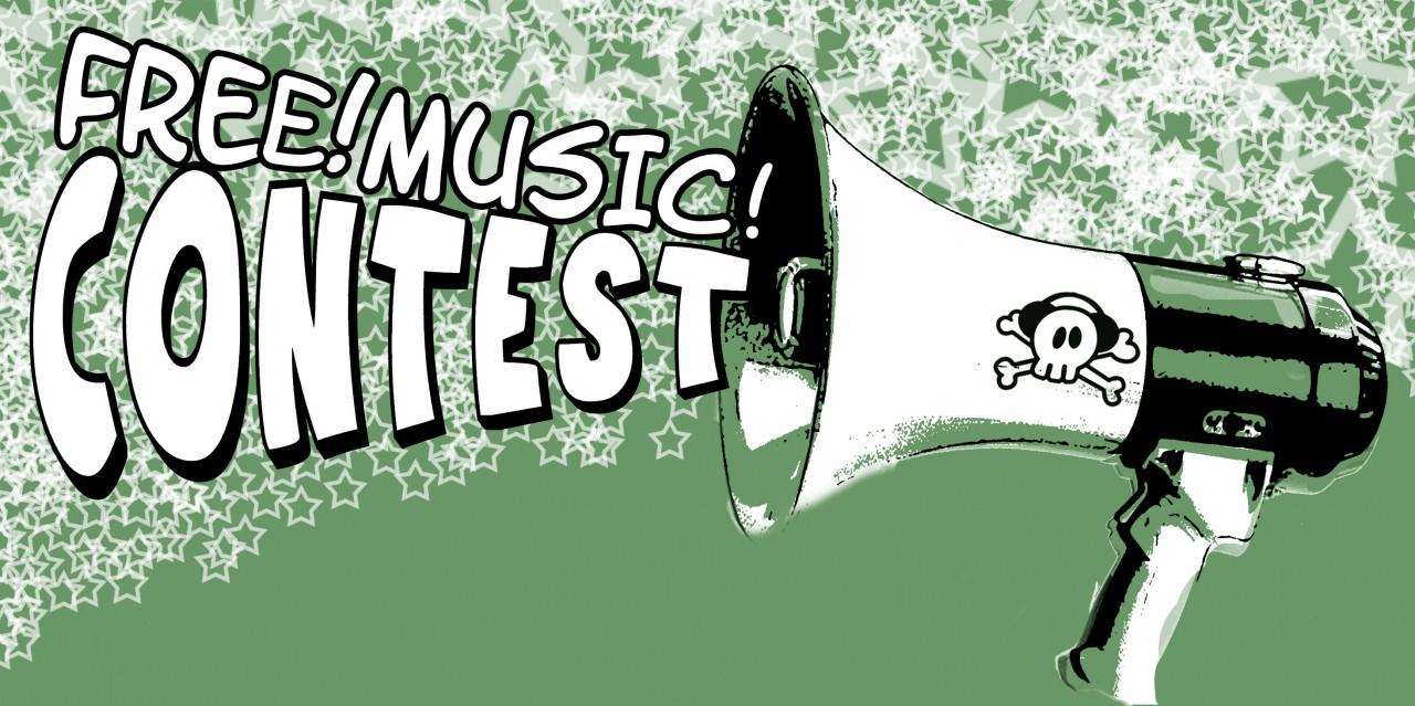 Logo: Free! Music! Contest 2010