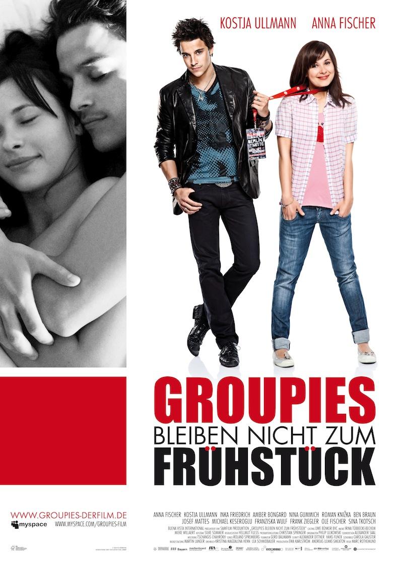 Filmplakat: Groupies bleiben nicht zum Frühstück