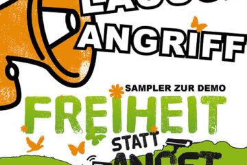 """Lauschangriff: Freie Musik für """"Freiheit statt Angst!"""" Demo"""