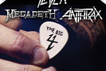 Big Four: Metallica, Slayer, Megadeth & Anthrax