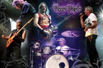 Collage: Deep Purple live