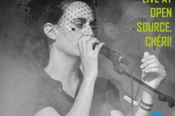 Cover: Er France – Live At Open Source, Chéri!