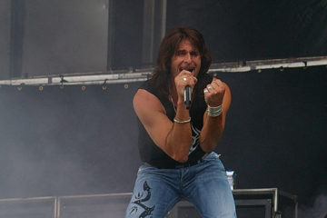 Steve Lee (Gotthard) beim Magic Circle Festival 2008