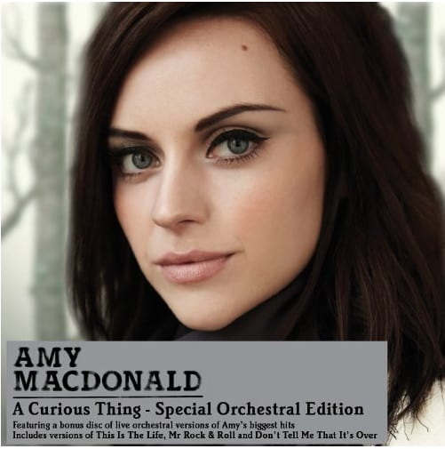 Cover: Amy Macdonald - A Curious Thing (Special Orchestral Edition)