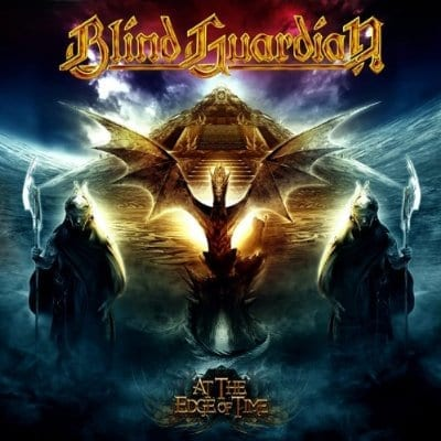 Cover: blind guardian - at the edge of time