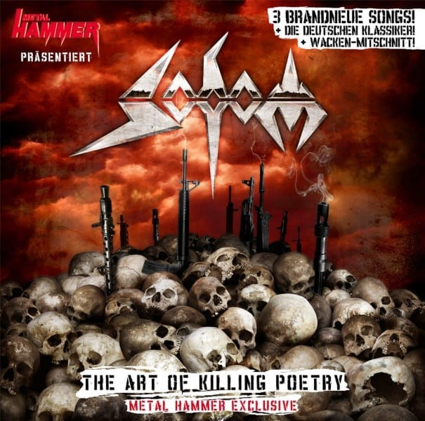 Cover: Metalhammer/Sodom - The Art of Killing Poetry