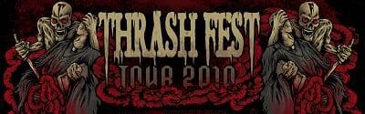 Thrash Fest Tour Logo