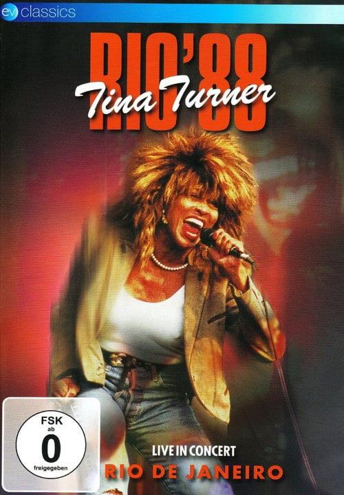 Cover: Tina Turner – Rio '88 (DVD)