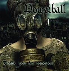 Cover: Powerball - Thank You For Tomorrow