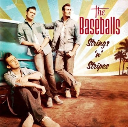 Cover: The Baseballs - Strings 'n' Stripes