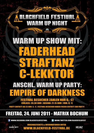 Blackfield 2011 Warm-Up-Show