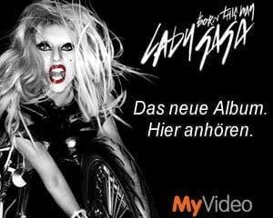 Lady Gaga: Bei MyVideo ins neue Album rein hören