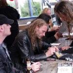 Primordial @ Rock Hard Festival 2011, Autogrammstunde-4