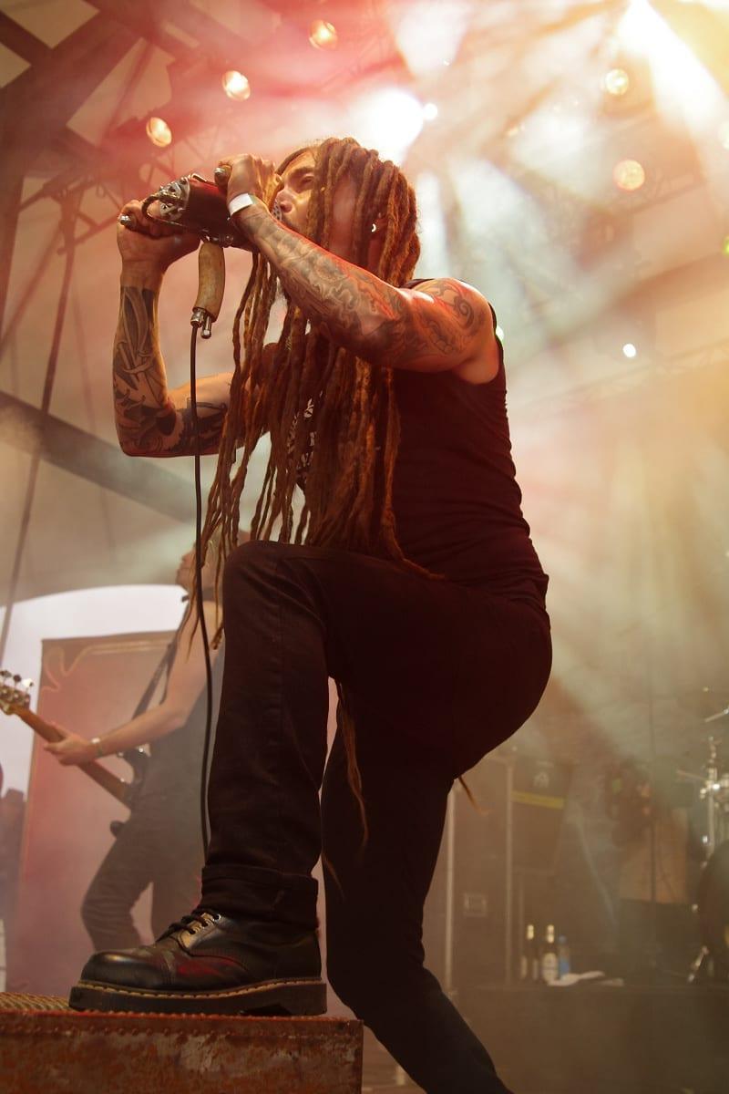 Amorphis beim Rock Hard Festival 2011 - Foto: Cathrin Kruse