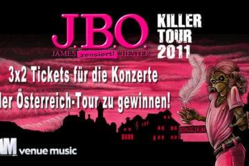 3x2 Tickets für die Österreich-Tour von J.B.O. zu gewinnen!