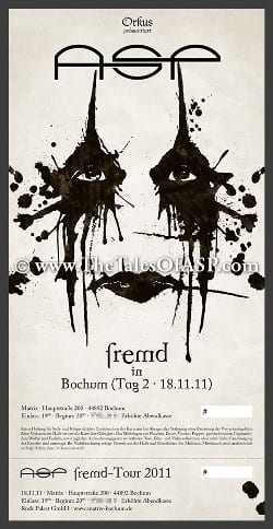 Flyer: ASP-Ticket Bochum
