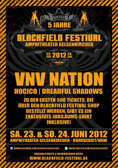 Blackfield Festival 2012 - official Flyer