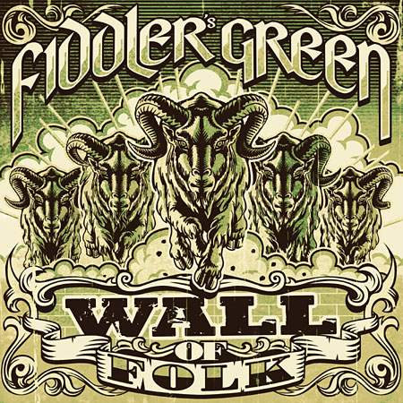 Cover: Fiddler's Green - Wall Of Folk