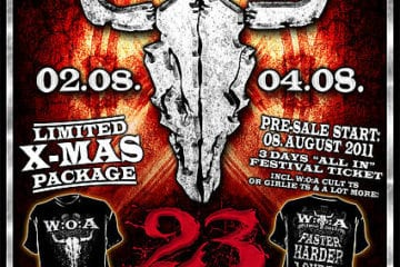 official Flyer: Wacken 2012