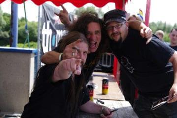 Bobby & Gerre @ Rock Hard Festival 2011