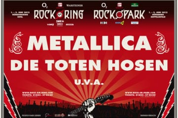 Rock am Ring/Rock im Park 2012: Metallica als Headliner bestätigt
