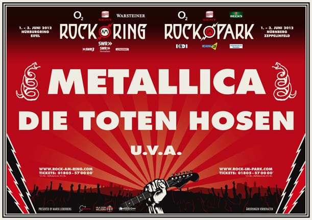Official Flyer Rock am Ring / Rock im Park 2012