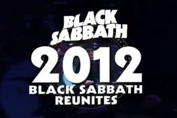 Black Sabbath Reunion 2012