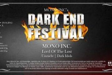 Official Ticket: Mono Inc. - Dark End Festival 2012