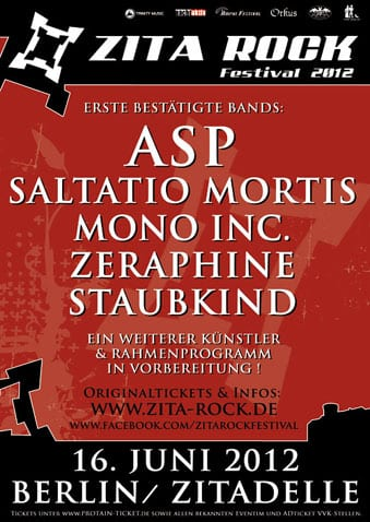 Official Flyer - Zita-Rock 2012