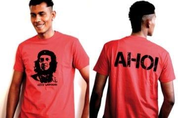 """Neues Shirt von Götz Widmann: """"Götz Guevara"""""""