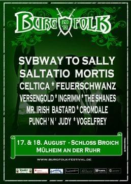Official Flyer - Burgfolk 2012