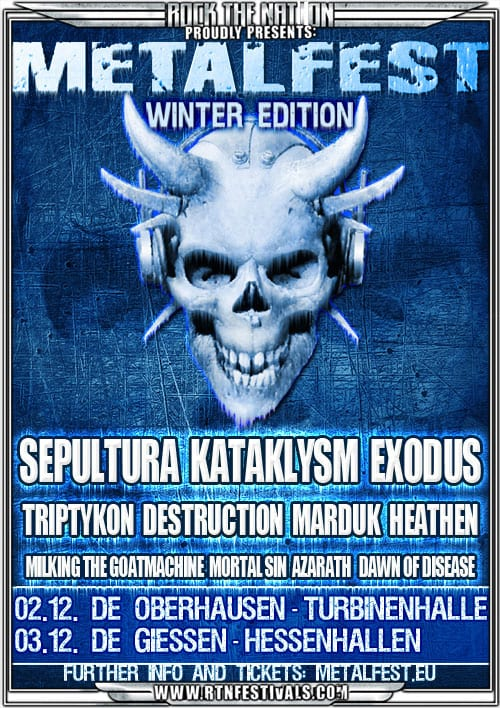 Official Flyer - Metalfest Winter Edition 2011