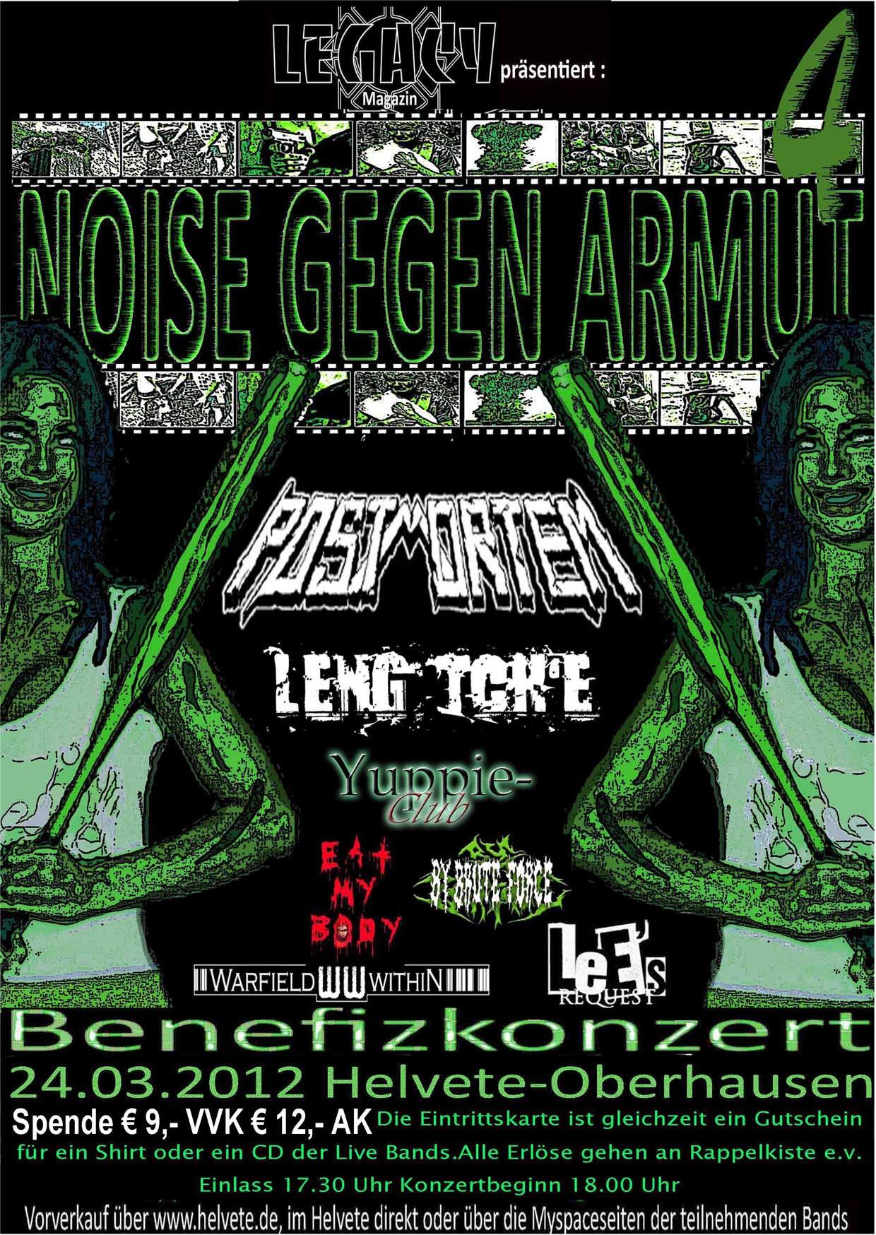 Official Flyer: Noise gegen Armut 4